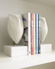 Jonathan Adler, Pair of Owl Bookends