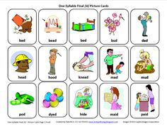 Testy yet trying: Final D: Free Speech Therapy Articulation Picture Cards