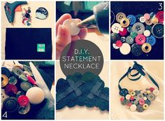 Couturella: DIY statement Necklace ideas