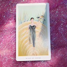 August ✨ ⠀⠀⠀⠀⠀⠀⠀⠀⠀⠀⠀⠀⠀ ⚡️Nine of Pentacles⚡️ ⠀⠀⠀⠀⠀⠀⠀⠀⠀⠀⠀⠀⠀ Draw of the day: you have reached a point in your life… Sound Healing, August 20, Pentacle, Your Life, Tarot, Meditation, Bee, Draw, Instagram
