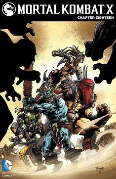 Mortal Kombat X Chapter 18 (Blood Gods-The Oni-Shokan Uprising Part Mortal Kombat Comics, Mortal Kombat Art, Videogames, Midtown Comics, Comic Art Community, Mortal Combat, Mileena, Back In The 90s, Fighting Games