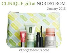 Clinique 6-pc gift set now available while very limited supplies last at Nordstrom when you spend $28 or more. http://clinique-bonus.com/nordstrom/