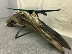 Driftwood Coffee Table, Driftwood Shelf, Driftwood Furniture, Driftwood Projects, Furniture Projects, Furniture Makeover, Diy Furniture, Furniture Design, Wooden Decor
