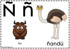 Asociamos los sonidos con las grafías convencionales - Letra Ñ -