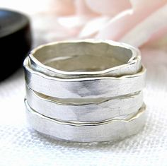 wrapped silver ring by anna k baldwin | notonthehighstreet.com
