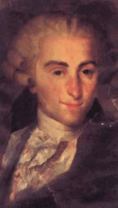 Italian composer Giovanni Battista Sammartini (1695-1750) wrote in a late Baroque style, with many elements of the early Classical style mixed in. Spent most of his professional life in England.