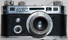 1940-1945 Perfex Fifty-Five: Camera passed down to me that my great-uncle used while serving in WWII