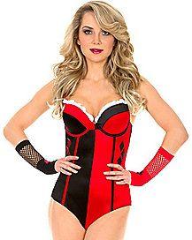 Harley Quinn Bodysuit $40