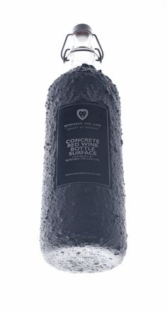 Concrete bottle surface | CONCRETEDESIGNBLOG