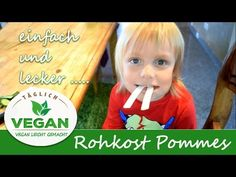 The easiest vegan raw food for KIDS Videos, Vegan, Youtube, Easy Meals, Recipies, Vegans, Youtubers, Youtube Movies