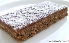 Chocolate Weet-bix Slice Recipe - it has to be good for you it has weet-bix in it