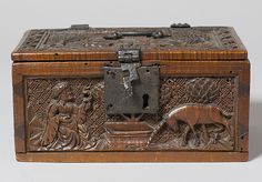 Coffret Date: late 15th century Geography: Made in Upper Rhineland, Germany Culture: German Medium: Maple