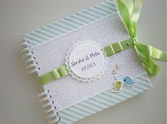 MichaelaCards / Kniha hostí s vtáčikmi
