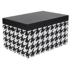 PL WD HOUNDSTOOTH BOX 9X6
