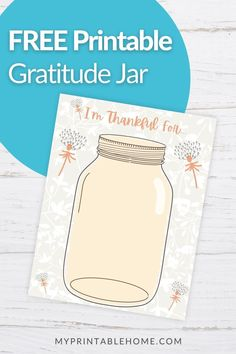 Whether you're an adult or a kid you can practice gratitude by drawing their pictures in the jar. Daily Gratitude | Gratitude Jar | Thankful Grateful Blessed | Grateful | Self Care | Gratitude Day | Give Thanks Jar | Thankful Jar Printables