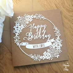 COMMERCIAL USE Happy Birthday Greeting Card by TommyandTillyDesign