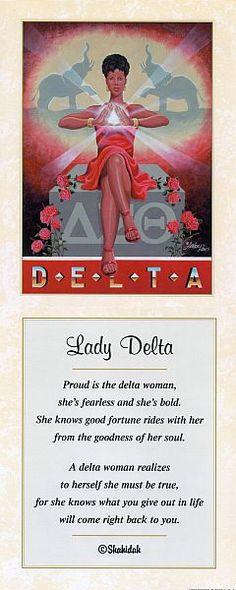 Image detail for -Delta Sigma Theta Art Gallery - The Black Art Depot Delta Sigma Theta Gifts, Delta Sorority, Alpha Kappa Alpha, Sorority And Fraternity, Sorority Life, What Is A Delta, Sorority Quotes, Divine Nine, Delta Girl