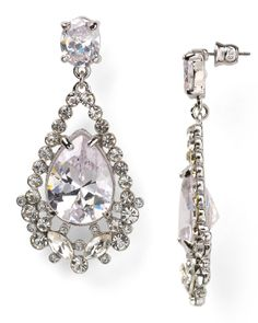 ABS by Allen Schwartz Double Drop Earrings | Bloomingdale's