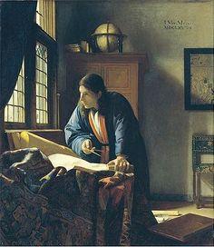 """Vermeer """"Geographer"""""""