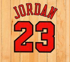 23, Michael Jordan Logo