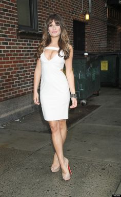 Lea Michele on The Late Show with David Letterman