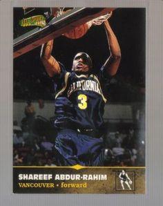 1996-97 Score Board All Sport PPF #108 SHAREEF ABDUR-RAHIM Grizzlies