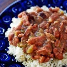 Red Beans And Rice from LeRuth's Front Door/Back Door Cookbook | South Louisiana Recipes