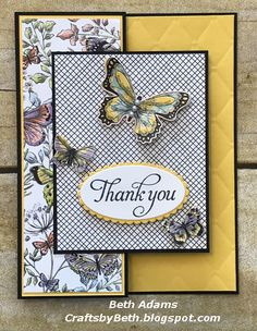 Trendy birthday card craft creative stampin up Ideas Fun Fold Cards, Folded Cards, Cute Cards, Making Greeting Cards, Greeting Cards Handmade, Stamping Up Cards, Butterfly Cards, Card Sketches, Paper Cards