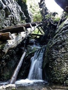 Veľký Sokol Gorge, Slovak Paradise National Park