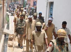 गुरदासपुर में गोलीबारी के दौरान पंजाब पुलिस का सर्च अभियान शुरु