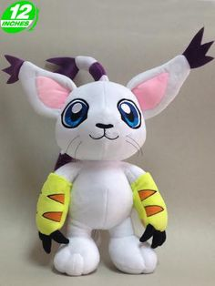 Digimon Adventure Gatomon Plush Doll DAPL1898