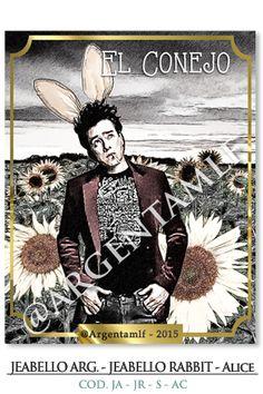 """""""Art SHOP"""": JEAbello Argentina - JEAbello Rabbit - Serie """"Alice""""... ౿౿౿౿★"""