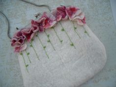 Lovely felt purse by filzgood