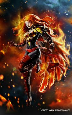 Dark Phoenix Jean Grey Marvel Avengers Alliance by jeffery10.deviantart.com on @DeviantArt