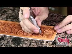 Learning Leathercraft with Jim Linnell – Lesson 8: Decorative Cuts