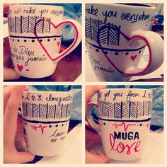 Sharpie mug ;) got a little crafty today