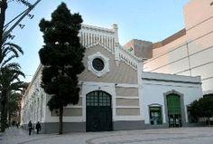 """Fabrica de la luz """"Hispania"""", primer edificio construido en el Ensanche. Cartagena."""