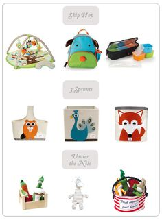 baby registry ideas via Take Flight the blog #skiphop #3sprouts #underthenile