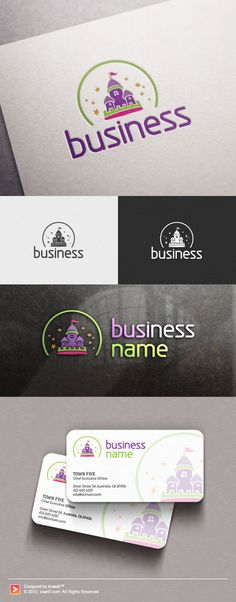 Buy a logo and we'll add your business name within 24 hours!