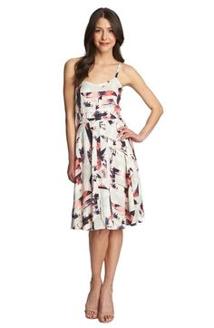 1.State+'Miami+Spectrum'+Cross+Back+Print+Dress+available+at+#Nordstrom