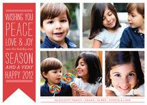 Wish Banner   The Social Type #holiday #christmascards #holidaycards