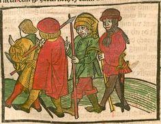 Johannes <de Capua> / Antonius <von Pforr>: Das buoch der weyßheyt der altten weysen Augsburg, 1484 Ink I-378 - GW M13178  Folio 287