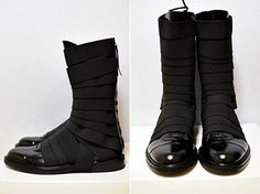 Modern doughboy style boots. Awesome