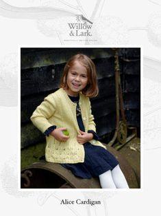 Alice Cardigan in Willow & Lark Nest Christmas Knitting Patterns, Baby Knitting Patterns, Sweater Patterns, Men And Babies, Free Baby Patterns, Baby Scarf, Knitting Supplies, How To Start Knitting, Dress Gloves