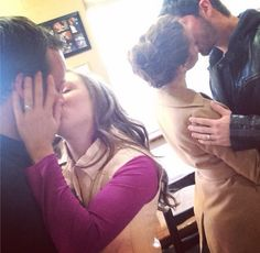 Jessa Duggar and Ben Seewald Make-Out Next to Josh and Anna Duggar: Cute or Creepy? - The Hollywood Gossip