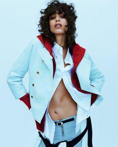 Mica Arganaraz para Vogue UK 'Game Up' - Julio 2016