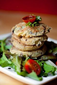 Fried green tomatoes!  need to try!