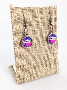 Fleurty Girl - NOLA Colors Dangle Earrings, Bourbon Street, $16