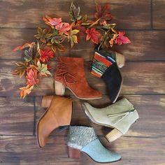 """JUNE & BEYOND BOUTIQUE on Instagram: """"@toms booties are a MUST this fall  we seriously cannot enough! #toms #booties #fallfashion #shoplocal #juneandbeyond #fringe #multicolor #fall"""""""