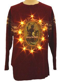 A beautiful Krampus sweater.
